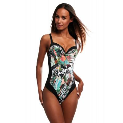 Kris Line Oaza strój kąpielowy 1-cz czarny