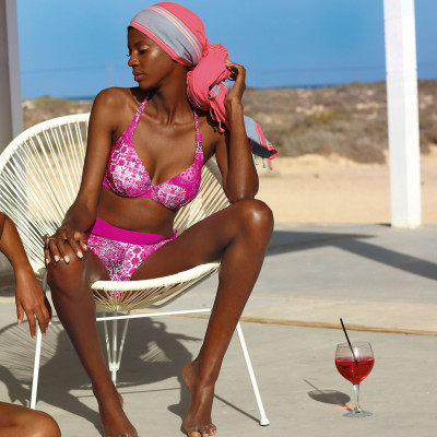Feba F11/750 strój kąpielowy damski różowy