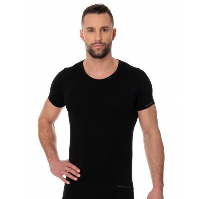 Brubeck T-Shirt SS00990 koszulka męska czarny