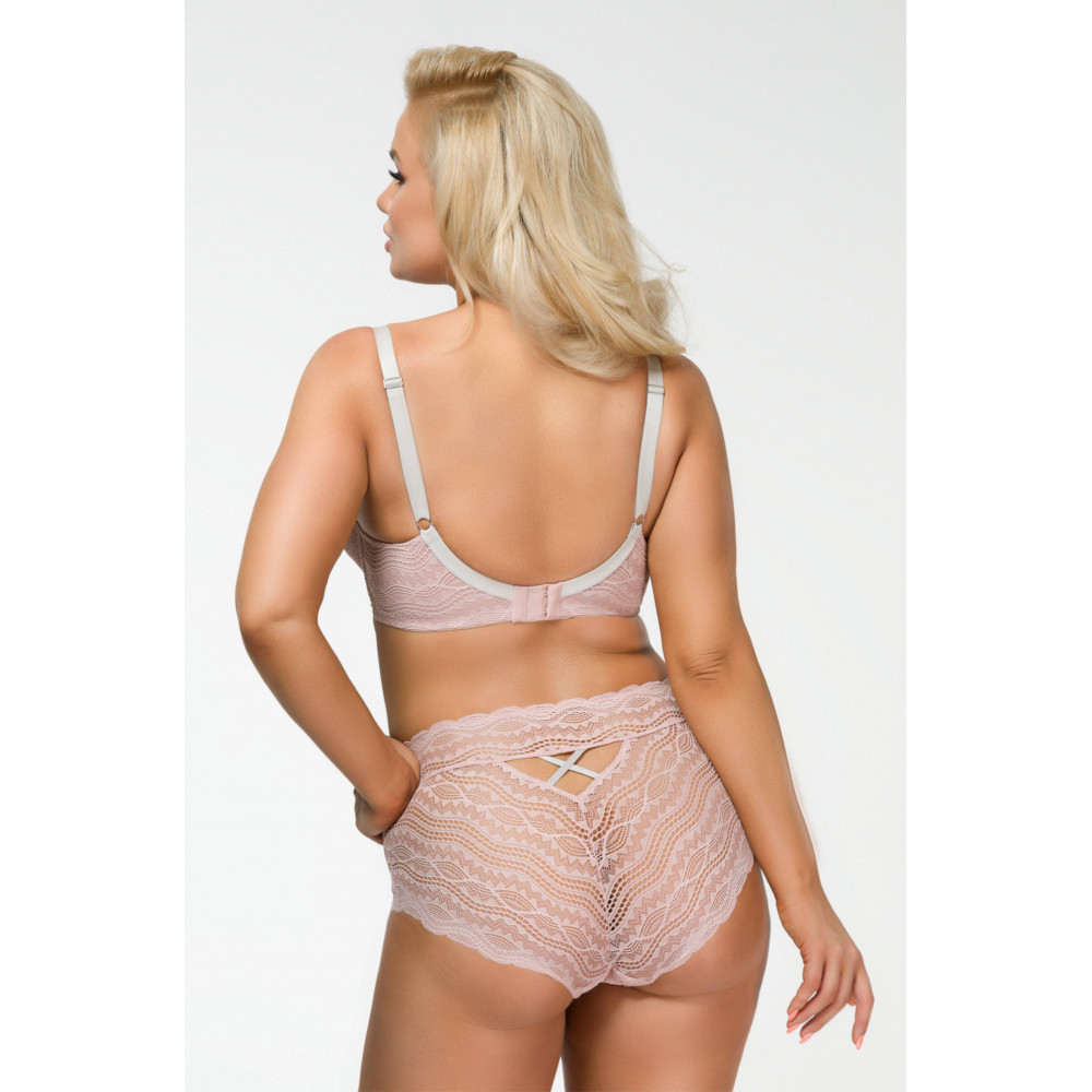 Marilyn Make-Up Hold-Ups 10D pończochy visone - Przód